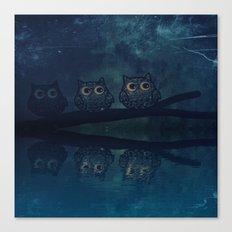 owl-84 Canvas Print