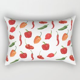 The Spice of Life Rectangular Pillow