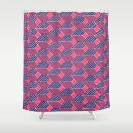 Steps [Depths] Shower Curtain