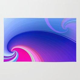 Ride the Wave (purple) Rug