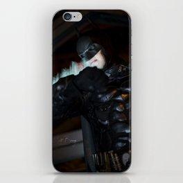 Patrolling Gotham iPhone Skin