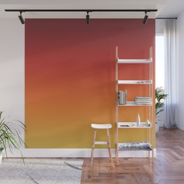 Fall Abstract Autumn Gradient Pattern Wall Mural