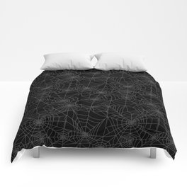 Dead of Night Cobwebs Comforters