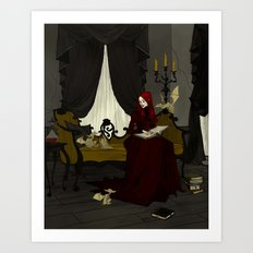 Storytime with Goblins Art Print