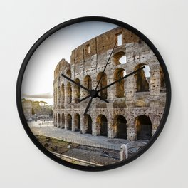 The Colosseum of Rome Wall Clock