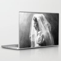 princess bride Laptop & iPad Skins featuring Bride by Hugo F G