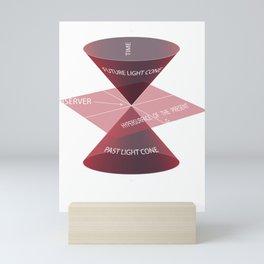 Special Theory of Relativity Physics Quantum Physics design Mini Art Print