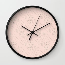 Diamond Dancers Wall Clock