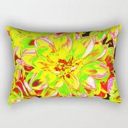 DAHLIA YELLOW Rectangular Pillow