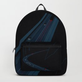 Through the Construct of Night Backpack