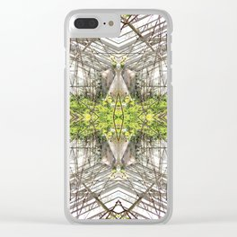 glass house Clear iPhone Case
