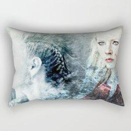 My name is Lagertha Rectangular Pillow