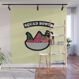 Squad Bowls Wall Mural