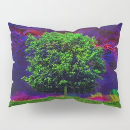 Warped Nature Pillow Sham