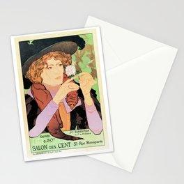 Art Nouveau Expo Salon des Cent Paris Stationery Cards