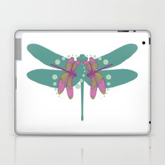 pattern with dragonflies 4 Laptop & iPad Skin