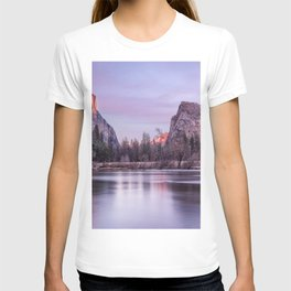 Yosemite National park sunset T-shirt