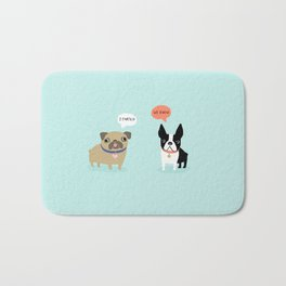 Dog Fart Bath Mat