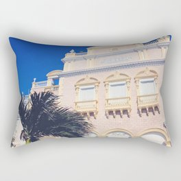 To the Theatre in Cartagena Rectangular Pillow