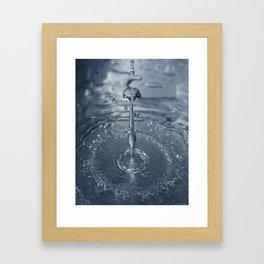 Liquid Play 2 Framed Art Print