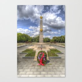 Russian War Memorial Budapest Canvas Print