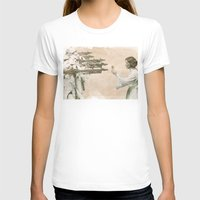 literary T-shirts featuring Flowers for Alderaan by Eric Fan