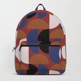 Half moon stripe multi Backpack