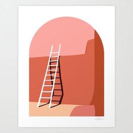 Georgia's Ladder Art Print