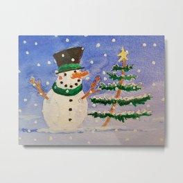 A Joyful Christmas Metal Print
