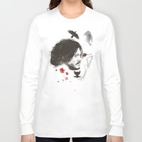 snow Long Sleeve T-shirts featuring Snow by Danny Haas