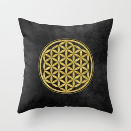 Flower Of Life 007 Throw Pillow