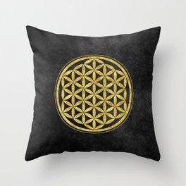 Flower Of Life 007 Throw Pillow