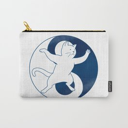 Tai Chi Cat 01 Carry-All Pouch