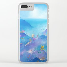 Mermaids No.1 Clear iPhone Case