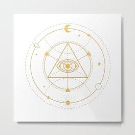 Harmonic Truth Metal Print
