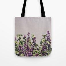 Wild Lilacs Tote Bag