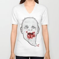 silence of the lambs V-neck T-shirts featuring Ready when you are, Sergeant Pembry. // Silence of the Lambs by boy Roland