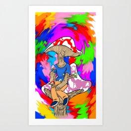 Feelin' Shroomish! Art Print