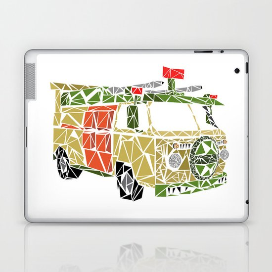 The Turtle Van Laptop & iPad Skin