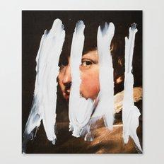 Untitled (Finger Paint 2) Canvas Print