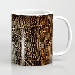 Abstract metal structure Coffee Mug