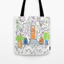 fairy door Tote Bag