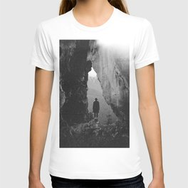 Through the Looking Glass - Holga Black and White Photograph in the Pacific Northwest T-shirt
