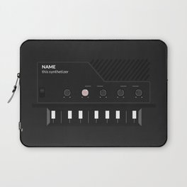 Analog Synth (Monotron) Laptop Sleeve