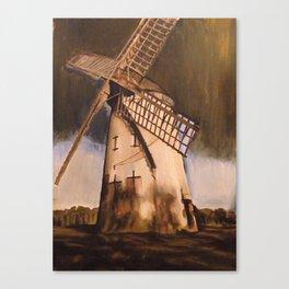 Bidston Windmill Canvas Print