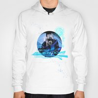 garrus Hoodies featuring Garrus Vakarian with shades by TheEmbraced