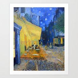 Vincent Van Gogh - Cafe Terrace at Night Art Print