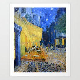 Vincent Van Gogh - Cafe Terrace at Night Art Print