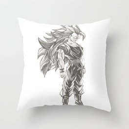 Goku Super Saiyan 3 Throw Pillow