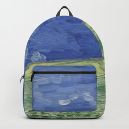 """Vincent Van Gogh """"Wheat Field under Thunderclouds"""" Backpack"""